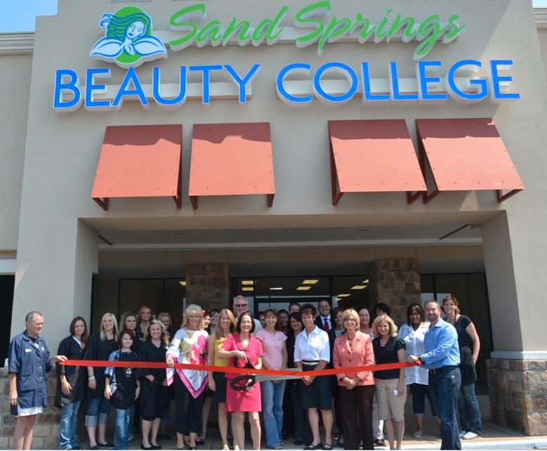 Sand Springs Beauty College Ribbon Cutting