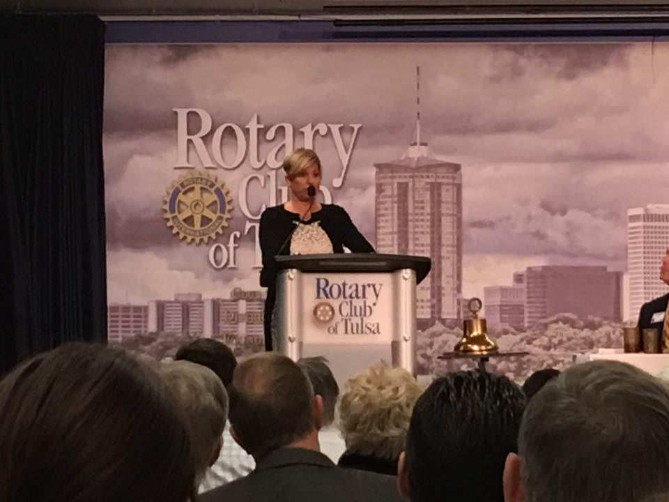 Jill Donovan of Rustic Cuff Speaks at Rotary!